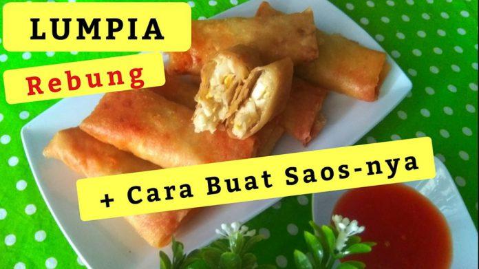 LUMPIA REBUNG + CARA MEMBUAT SAOS TOMAT PEDAS by Sri Wee