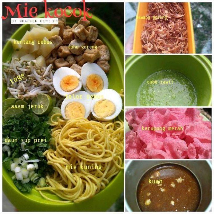 MIE KOCOK by Dewi Puspita Sary