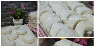 PUTRI SALJU 3 Bahan (Tanpa Telur, Tanpa Kacang Mete) By Dapur Pincess