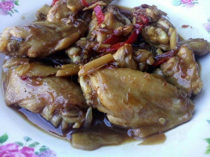 Ayam Masak Jahe by Siti Qomariyah Lajnah