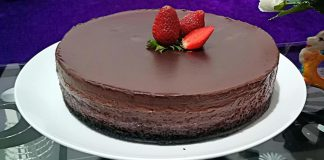 Brownies Ny Liem chocho mousse dan choco melted by Nurain Alatas