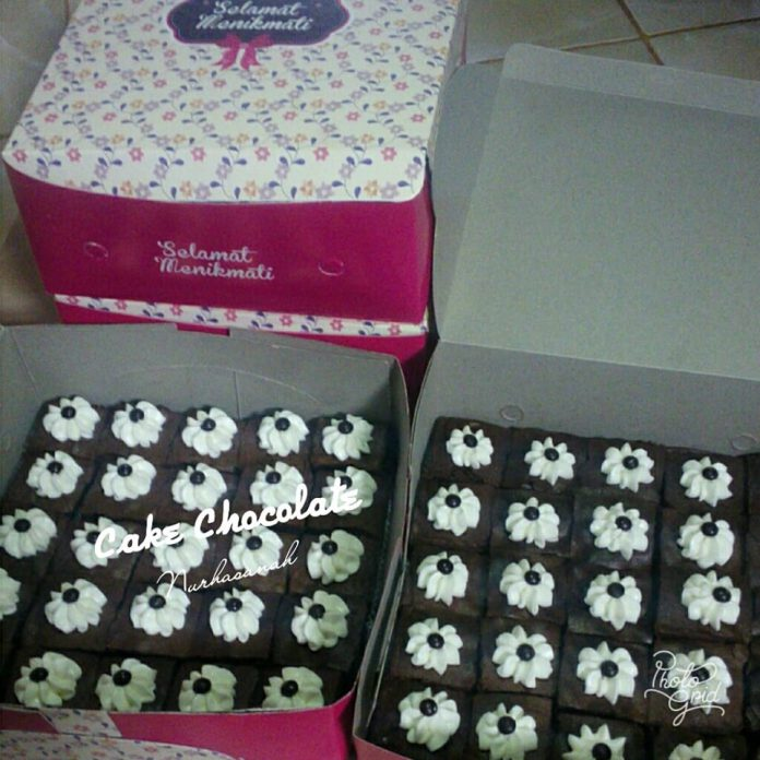 Cake Chocolate Potong by Nurhasanah