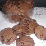 Double Chocolate Cookies by Neng Alya Dewina