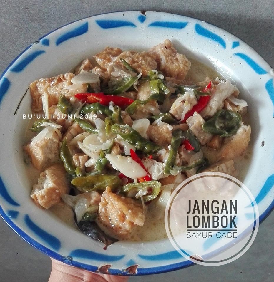Jangan lombok (sayur cabe) by Dian Pravitasari