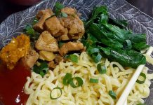 Mie ayam resep Ummu Almer by Kiromatil Baroroh