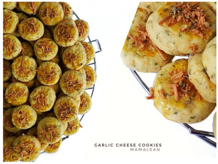 garlic cheese cookies by Beta Wicaksono