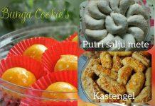 Adonan dasar kue kering untuk 4 jenis kue kering by Bunga Safari