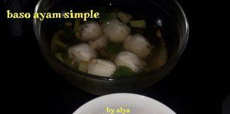 BASO AYAM SIMPLE by Neng Alya Dewina