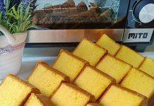 CAKE KUNING TELUR aka cake Jadul by Vita Lim