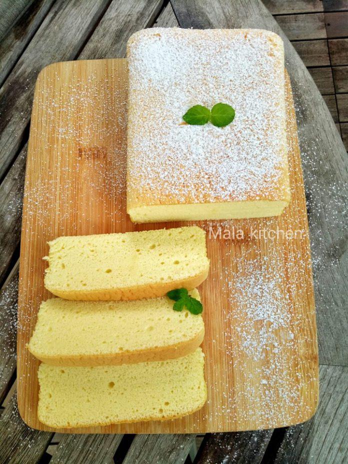 CONDENSED MILK COTTON CAKE by Mala Muhammad Anwar