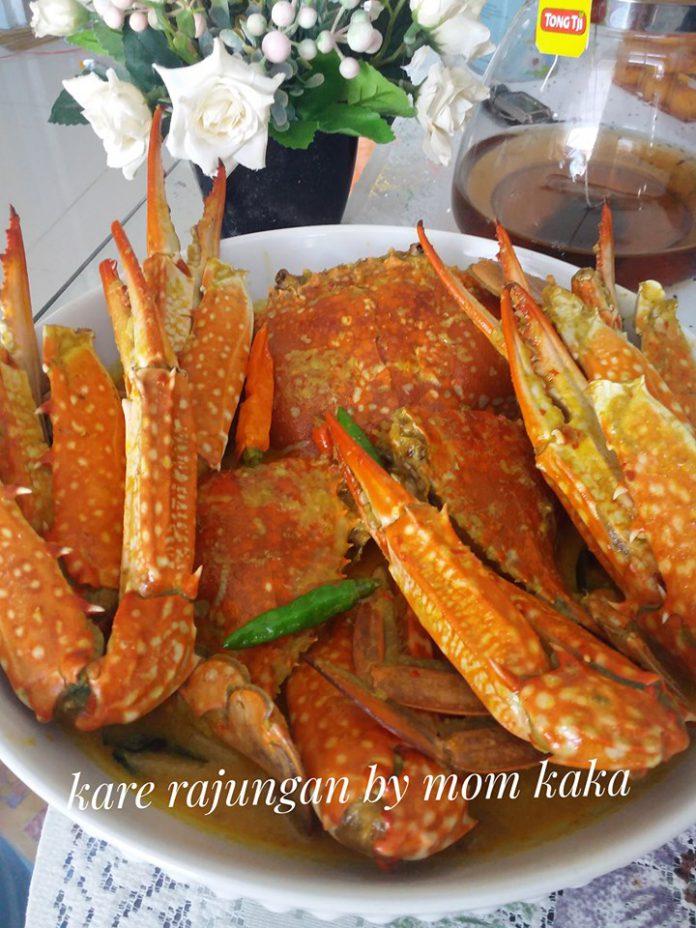 Resep Kare Rajungan by Khori