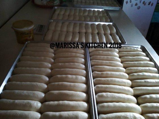 masuk oven Resep Roti Marissa's Kitchen by Haiziqah Satilie