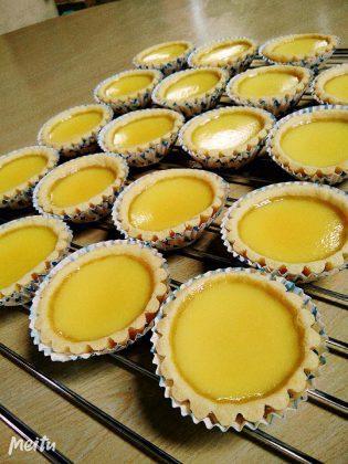 Egg Tart /Pie Susu resep Xander's Kitchen by Melody Liew