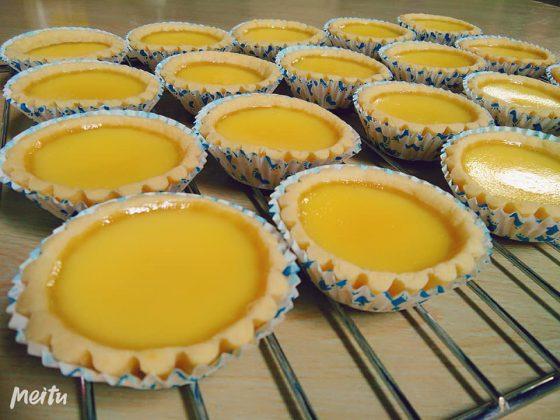 Egg Tart /Pie Susu resep Xander's Kitchen by Melody Liew 1