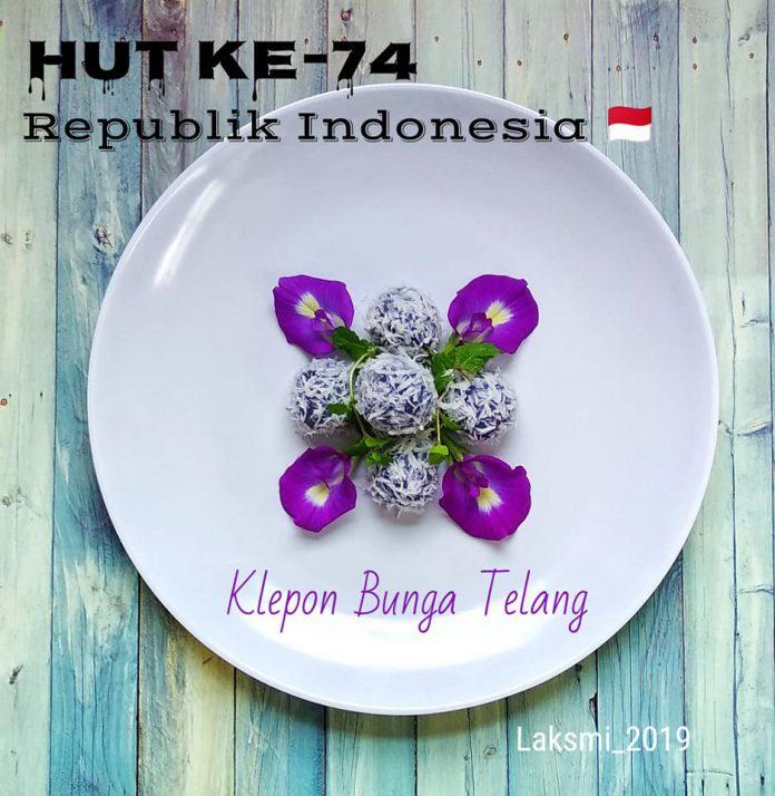Klepon Bunga Telang by Laksmi Herawati Indra