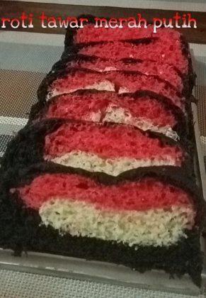 Roti tawar merah putih by Yossi Kartini