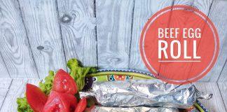 BEEF EGG ROLL by Nisa Urrizki Laili Fauziah