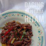 Daging Sapi Lada Hitam by Eliza Makkulau