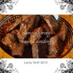 Empal goreng bumbu dendeng by Vetrarini Leroy