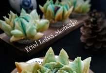 Fried lotus mooncake by Tri Yunianti