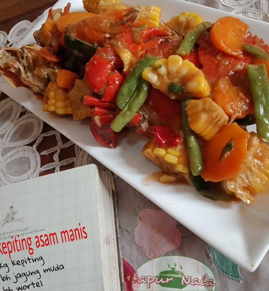 Kepiting Asam Manis by KaSyafa