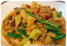 NatNat Lamb Curry (NatNat kari daging domba) by Talia Noelle Ayume