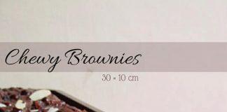 CHEWY BROWNIES by Sabrina Tambunan