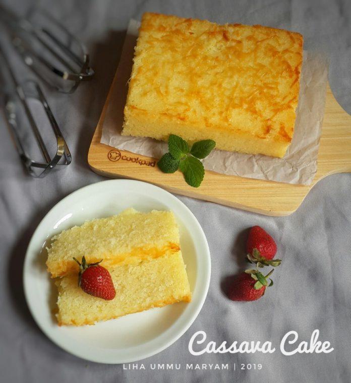 Cassava cake (singkong) by Liha Ummu Maryam