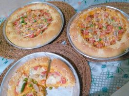 PIZZA Killer Soft Bread by Nita Andriani