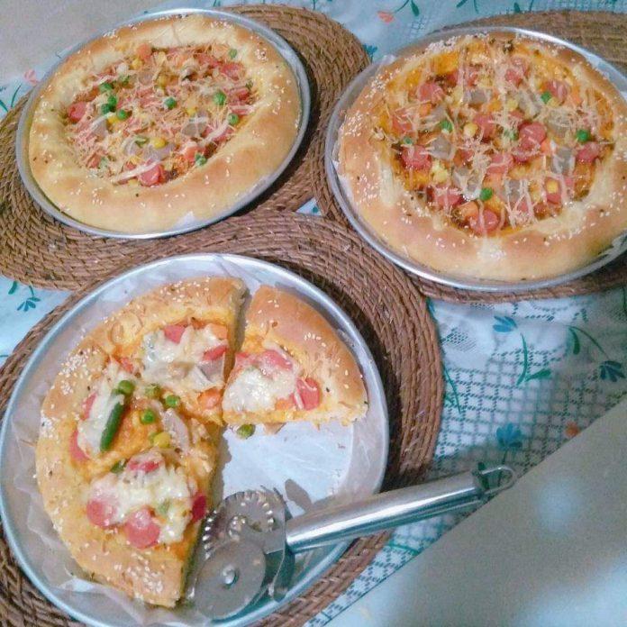 PIZZA Killer Soft Bread by Nita Andriani