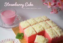 Strawberry cake by Liha Ummu Maryam
