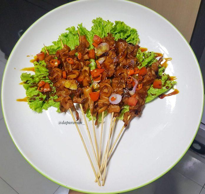 sate jamur tiram by Delina Sekar Arum