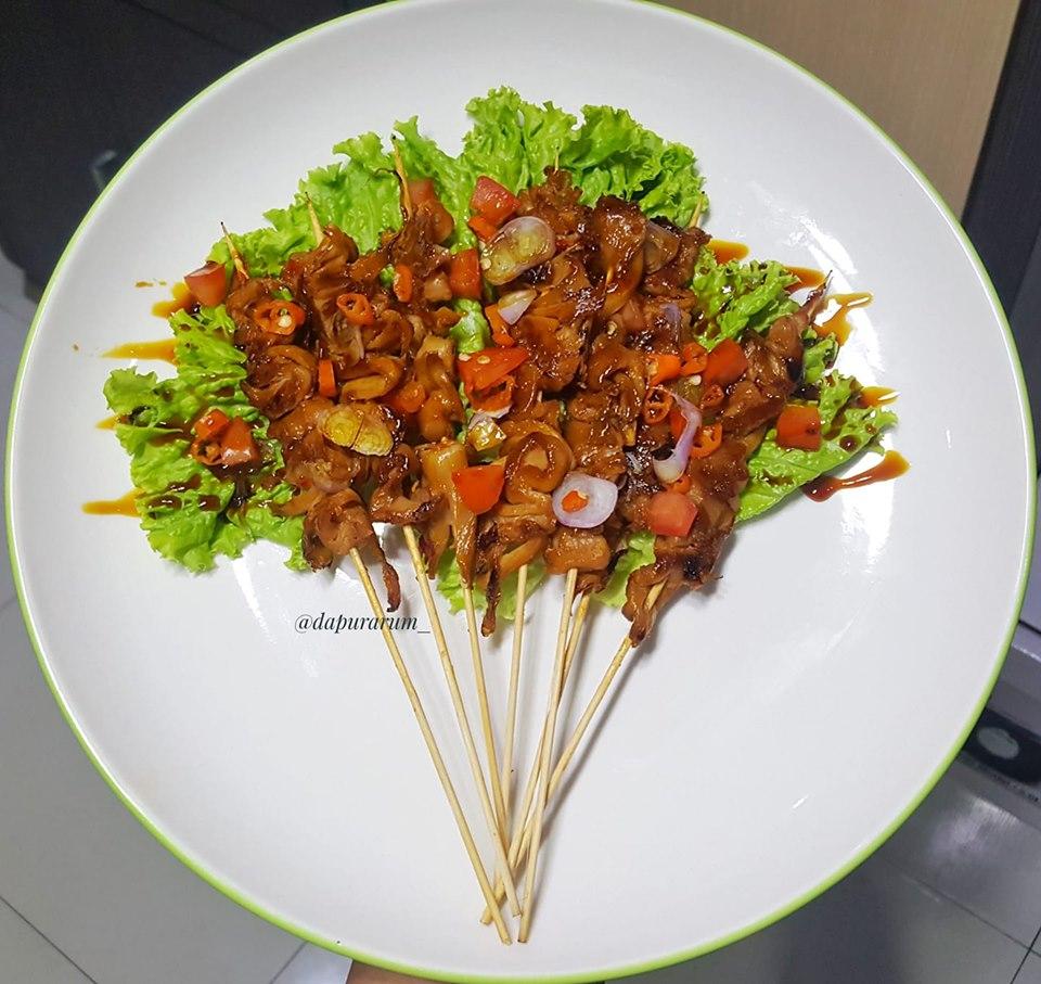 Oyster Mushroom Sate By Delina Sekar Arum Langsungenak Com