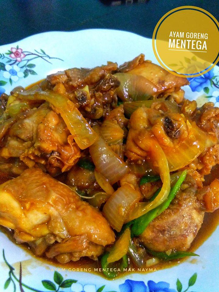 Ayam Goreng Mentega Ala Saya By Nayma Nadhira Langsungenak Com