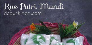 Kue Putri Mandi by Nanik Hidayati