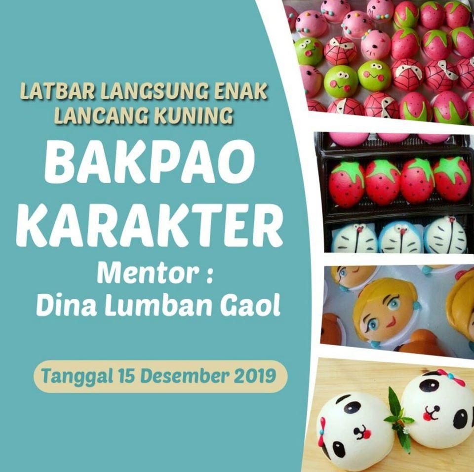 LATBAR LANGSUNG ENAK LANCANG KUNING - bakpao karakter -