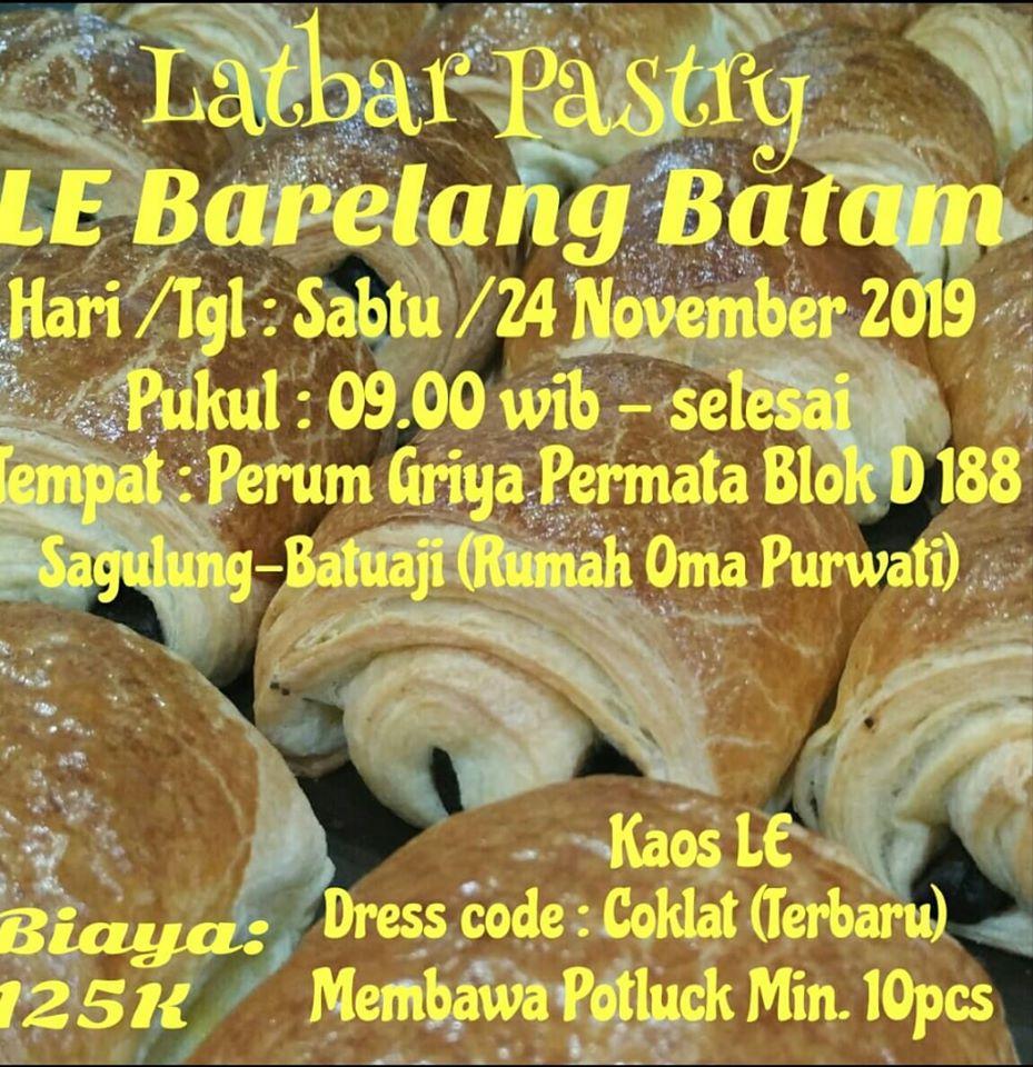 LATBAR LE BARELANG BATAM aneka pastry