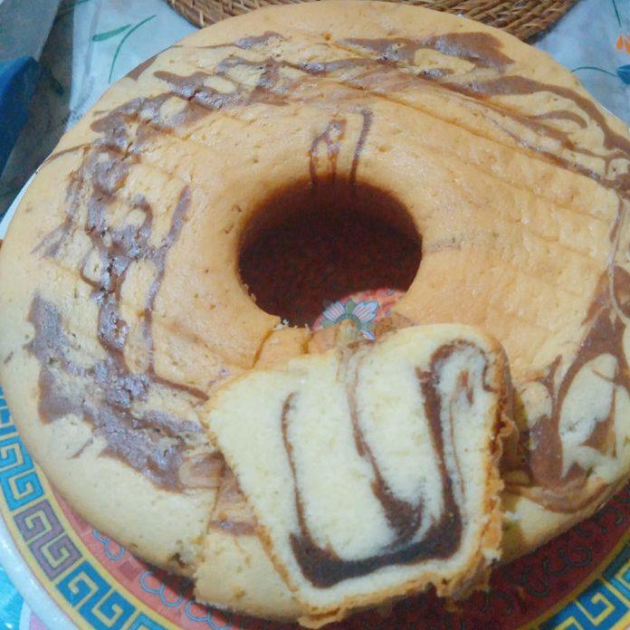 MARMER CAKE JADUL by Nita Andriani