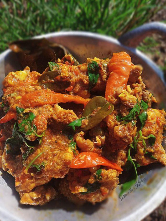 PEDESAN TULANG AYAM KEMANGI by Dianish's Kitchen