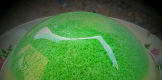 Puding lumut by Linda Dwi