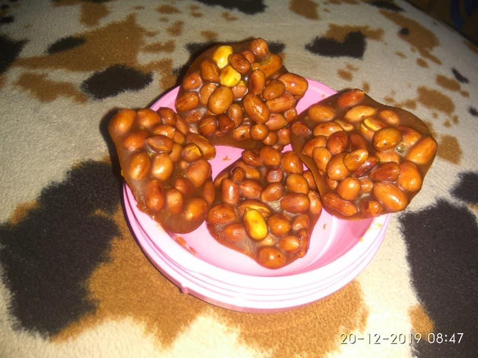 Ampyang Kacang Gula Merah By Ati Yusuf Langsungenak Com