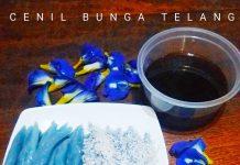 Cenil bunga telang by Rina Sugiharti