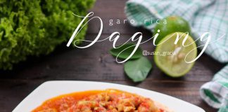 DAGING GARO RICA by Susana Gracia Cathrine