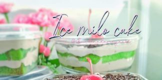 Ice Milo Cake by Dina Damayanti