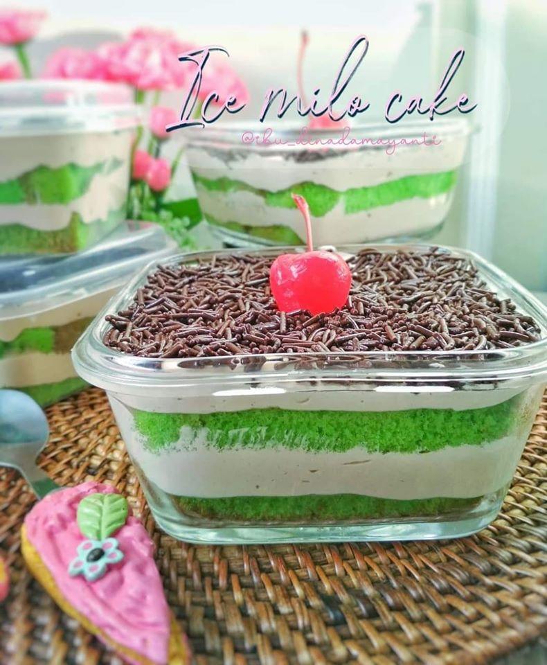 Ice Milo Cake by Dina Damayanti