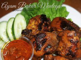 AYAM BAKAR MENTEGA by Dianish's Kitchen