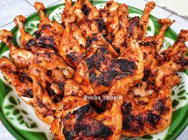 Ayam bakar rempah by Ocha Chupid