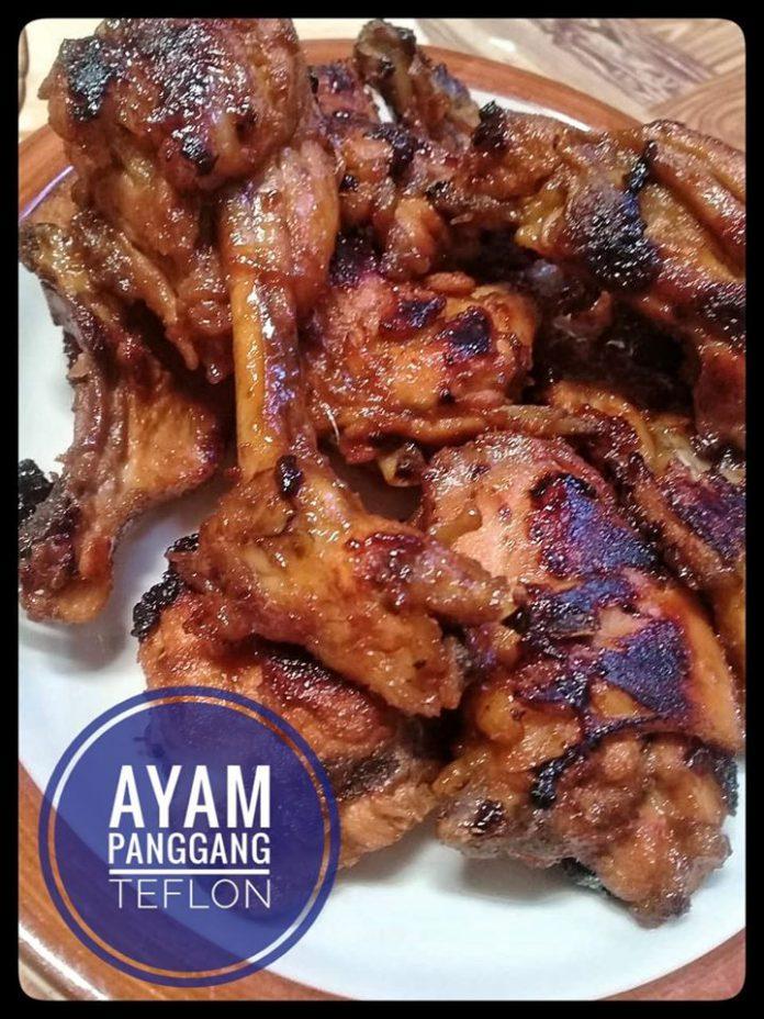 Ayam panggang teflon by Bundanya Amelia