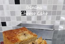 Banana Cheese Cake by wahyu Nursanti Suratman