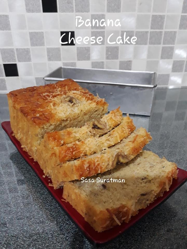 Banana Cheese Cake By Wahyu Nursanti Suratman Langsungenak Com